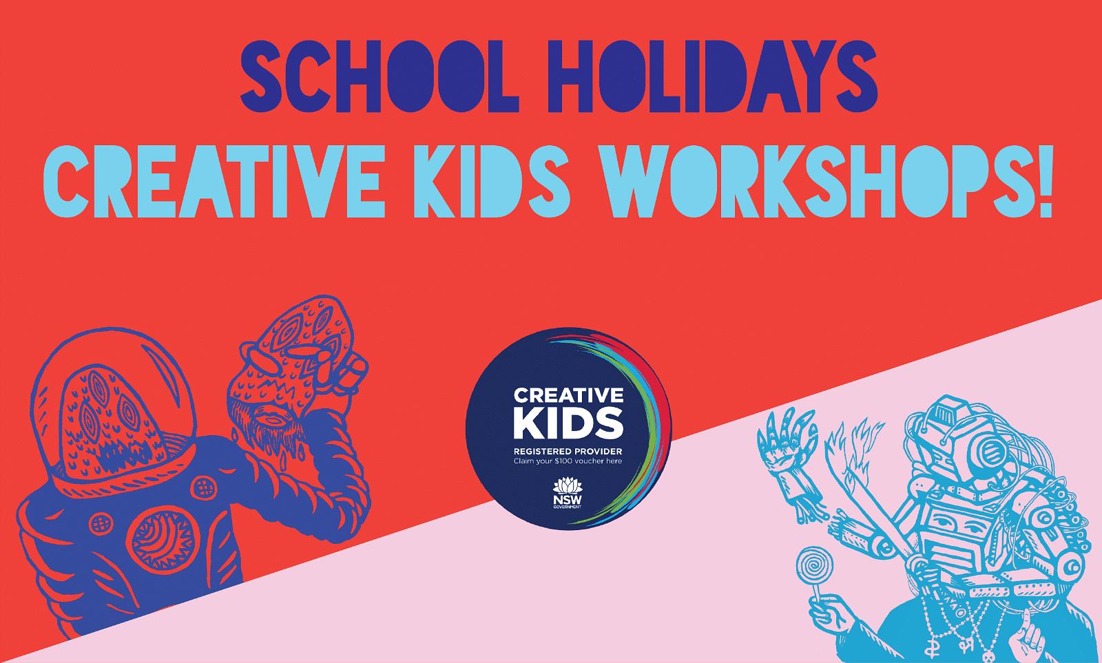 Creative Kids School Holidays Workshops
