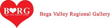 Bega Valley Regional Gallery logo and link to website.